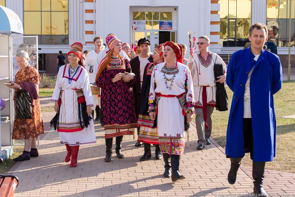 Театральное представление Мордовская свадьба