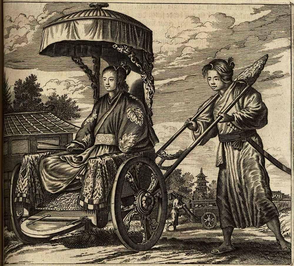 Япония глазами европейцев на гравюрах - 1670 год (10)