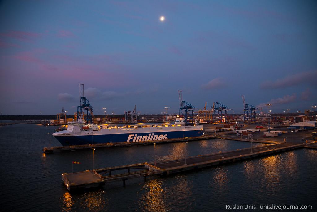 Путешествие на пароме Хельсинки Травемюнде