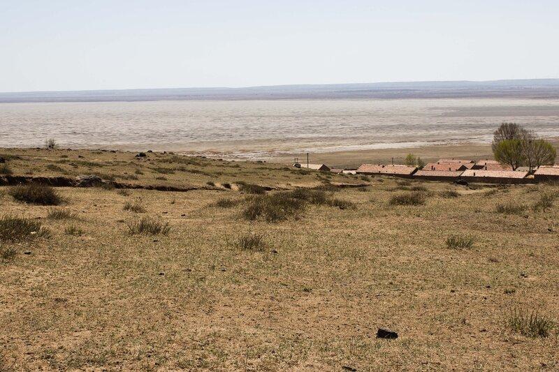 озеро Аньгули Нур, Anguli Nao, внутренняя монголия, китай