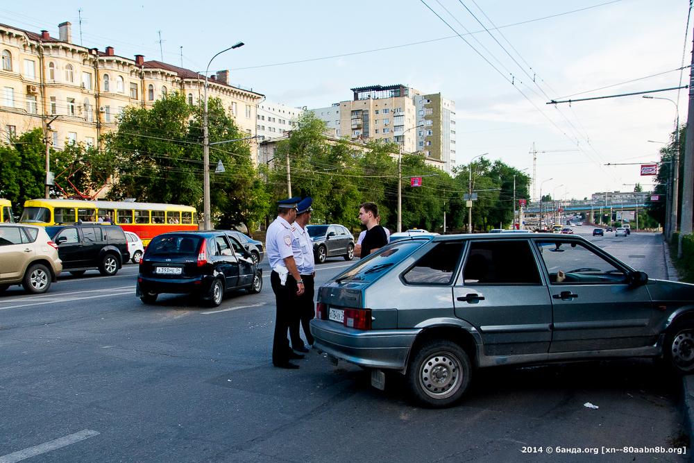 Авария Глазкова - пр. Ленина / 22.06.2014