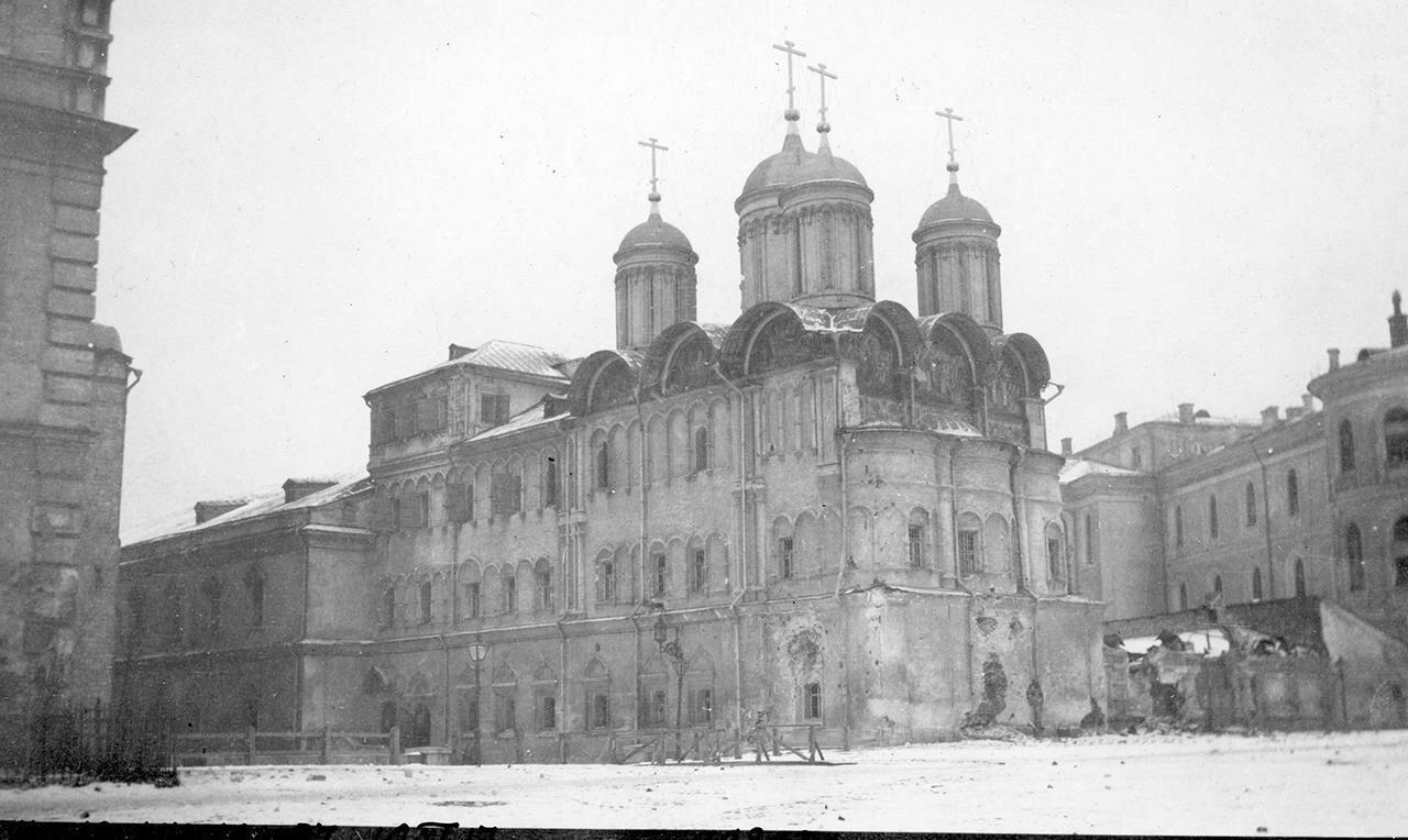 Церковь Двенадцати Апостолов 1917. 10 ноября