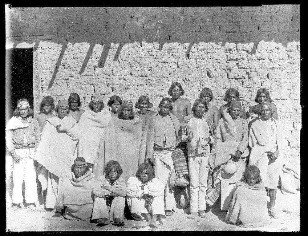 1893. Люди из племени тараумара. Набогам
