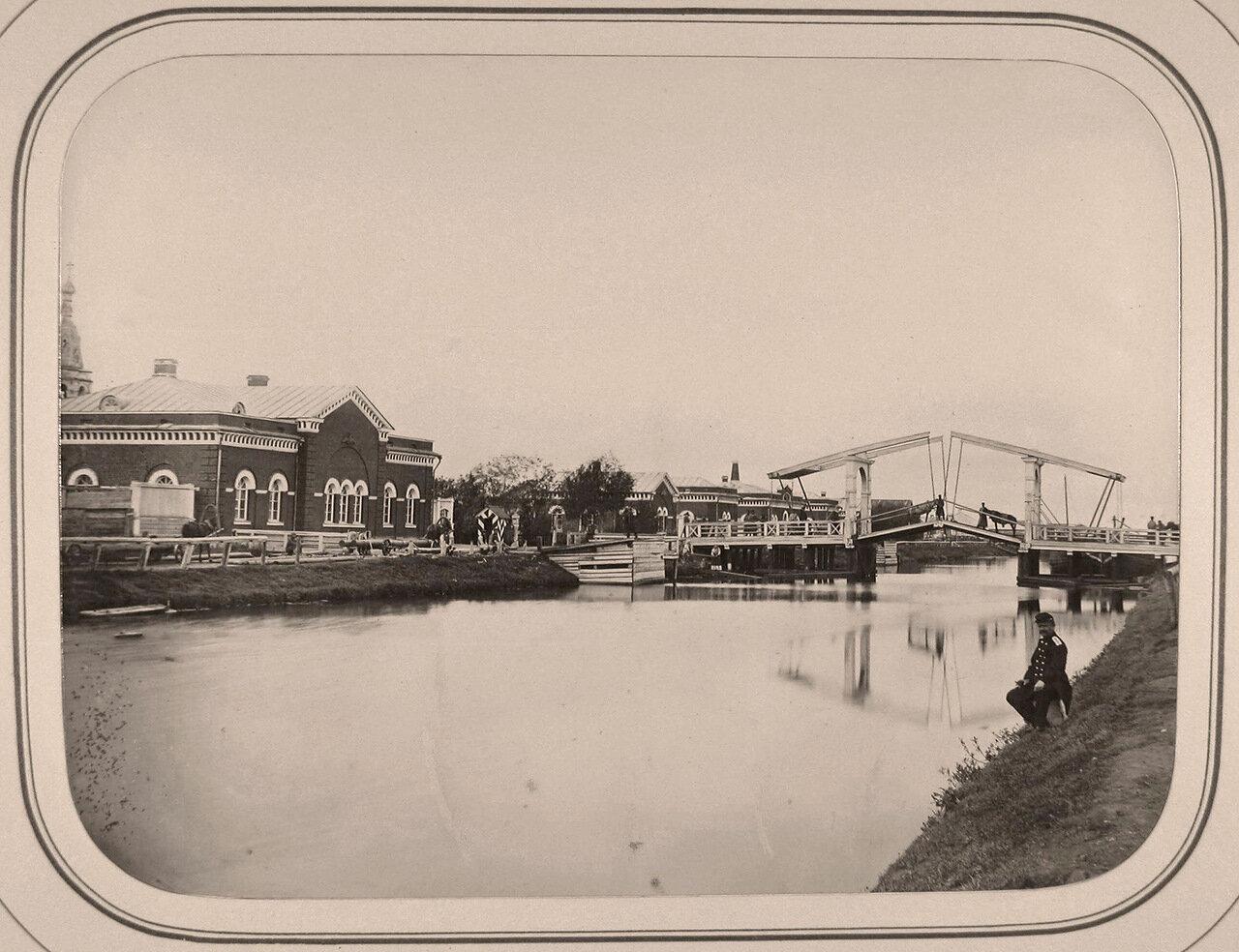Вид дома начальника судоходной дистанции на Белозерском канале