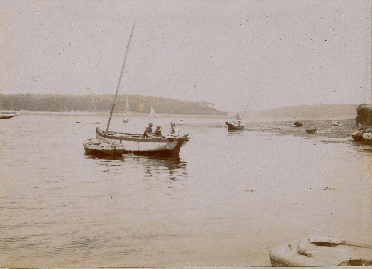 1900. Беноде. Лодка