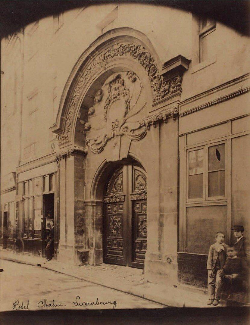 1920. Особняк Шалон-Люксембург