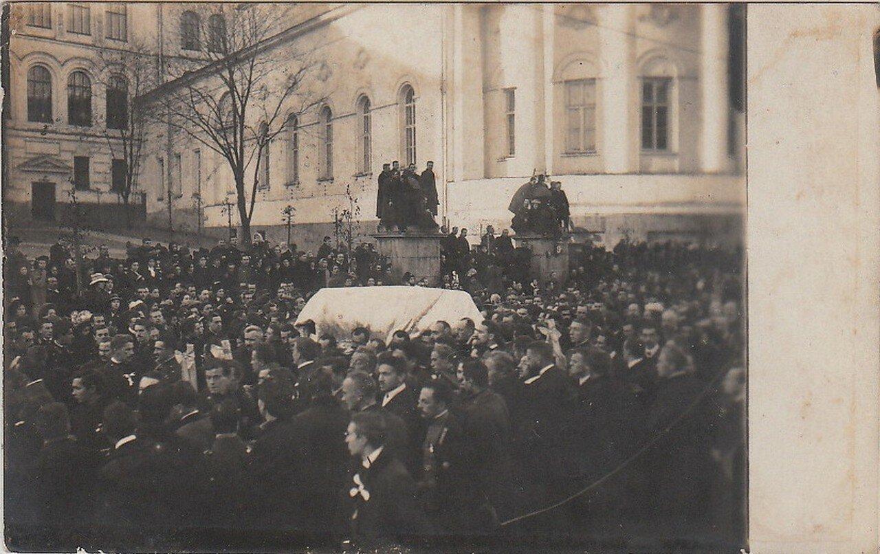 Похороны Сергея Муромцева 7 октября 1910