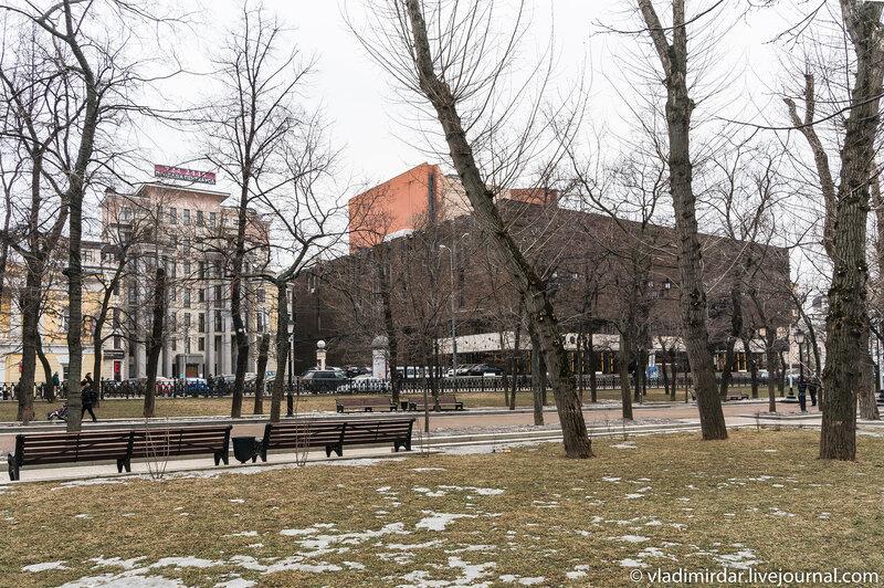 Тверской бульвар - Новое здание МХАТ