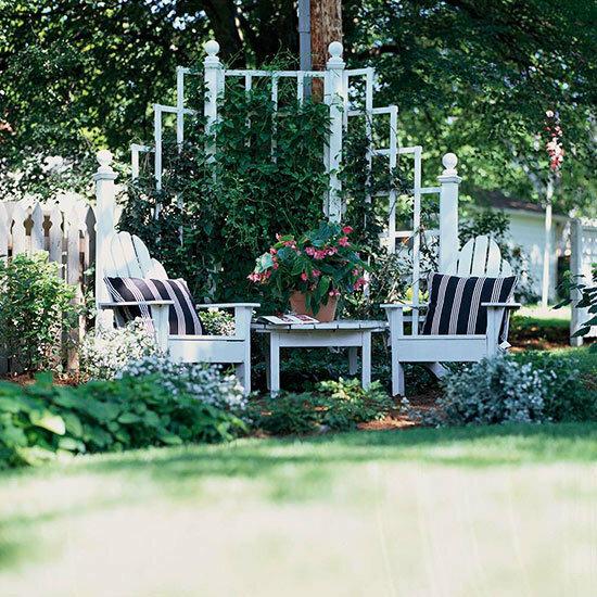 Садовые дворики. Ландшафтный дизайн  - фото 29