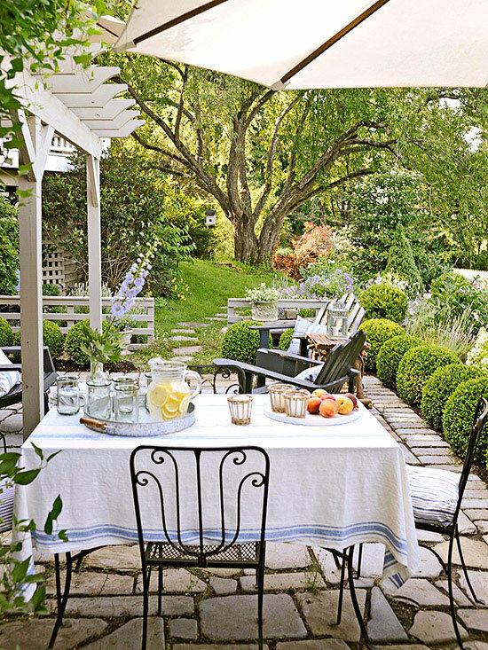 Садовые дворики. Ландшафтный дизайн  - фото 4