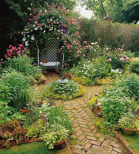 Садовые дворики. Ландшафтный дизайн  - фото 12