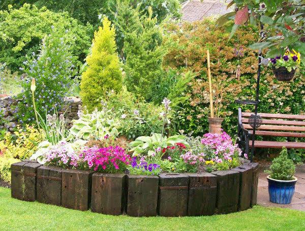 Садовые дворики. Ландшафтный дизайн  - фото 3