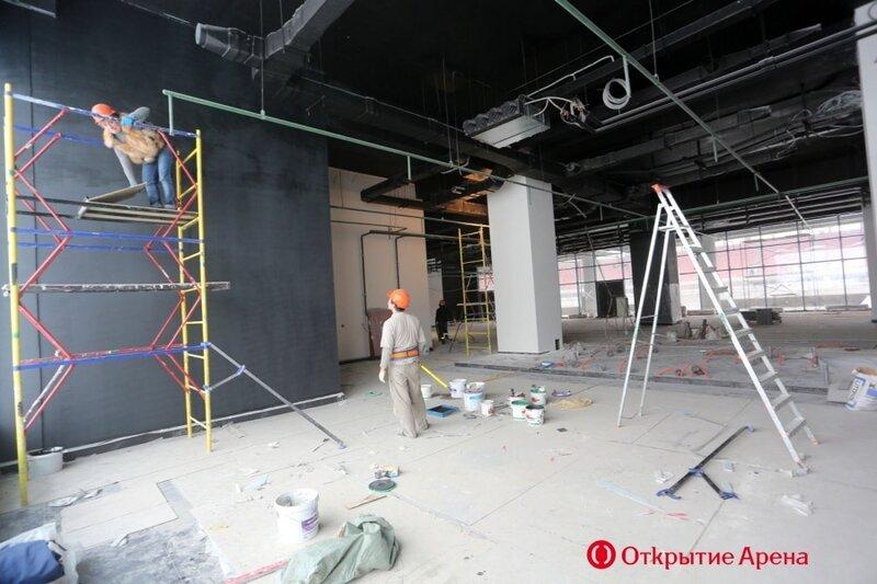 """Строительство стадиона """"Спартак"""". Март 2014"""