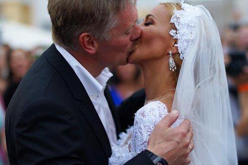 Состоялась свадьба Навки и Пескова
