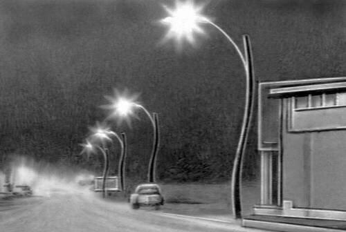 Уличные фонари и их виды