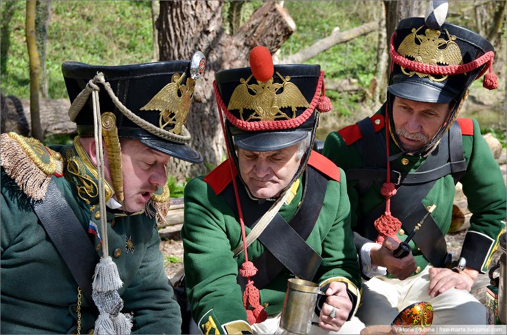реконструкция войны 1812 года