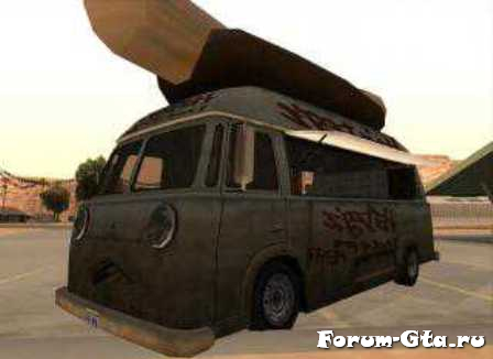 GTA San Andreas HotDog Van