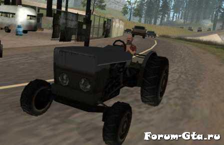GTA San Andreas Tractor