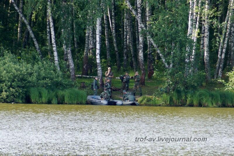Немцы готовятся к форсированию реки. 22 июня, реконструкция начало ВОВ в Кубинке