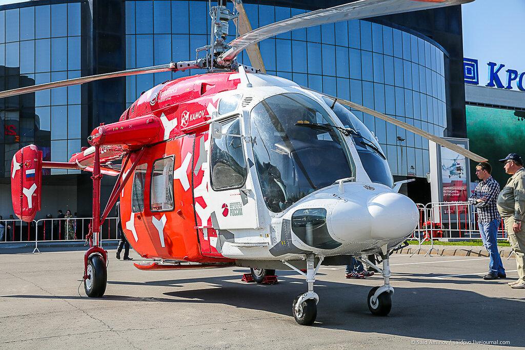 Вертолет Ка-226Т оснащен двумя
