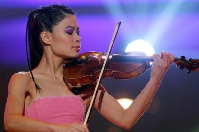 Скрипачка Ванесса Мэй будет соревноваться на играх в Сочи