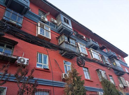 Старые постройки Пекина