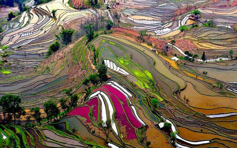 Самые красивые места на Земле на фотографиях