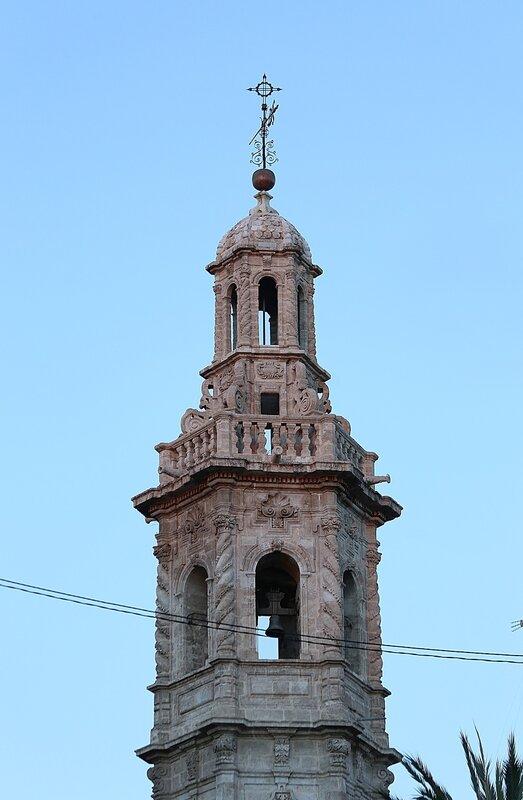 Валенсия, Колокольня церкви Святой Каталины