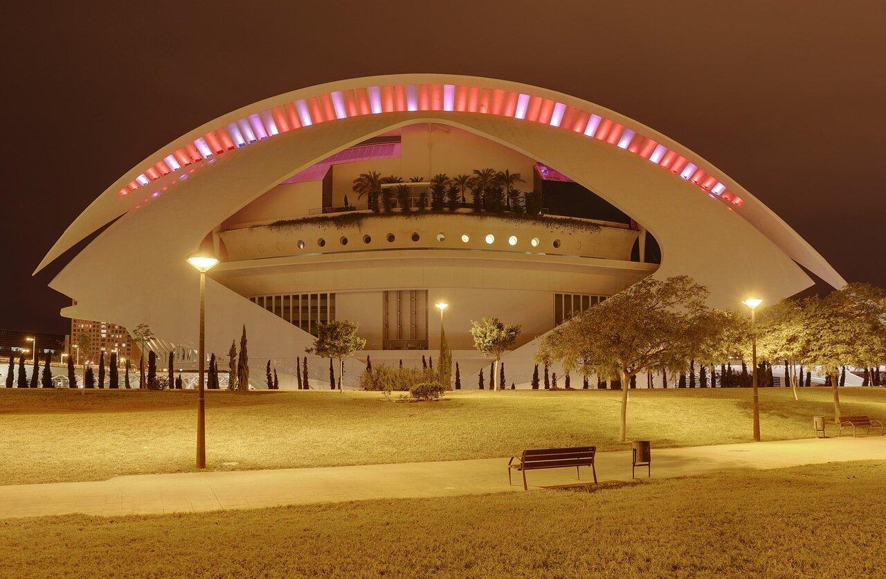 Валенсия, Valenciz. Город искусств и наук,  Ciudad de las Artes y las Ciencias