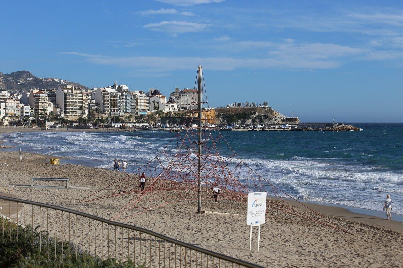Бенидорм. Пляж Пониенте (Playa de Poniente)