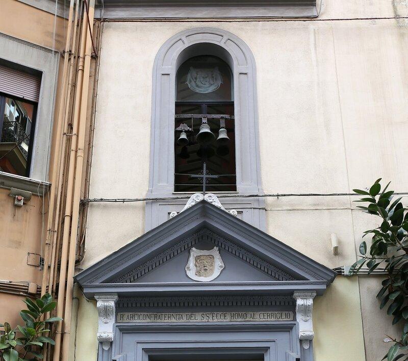 Naples. Church of Eche OMO al Ceriglio (Chiesa Dell'ecce Homo al Cerriglio)