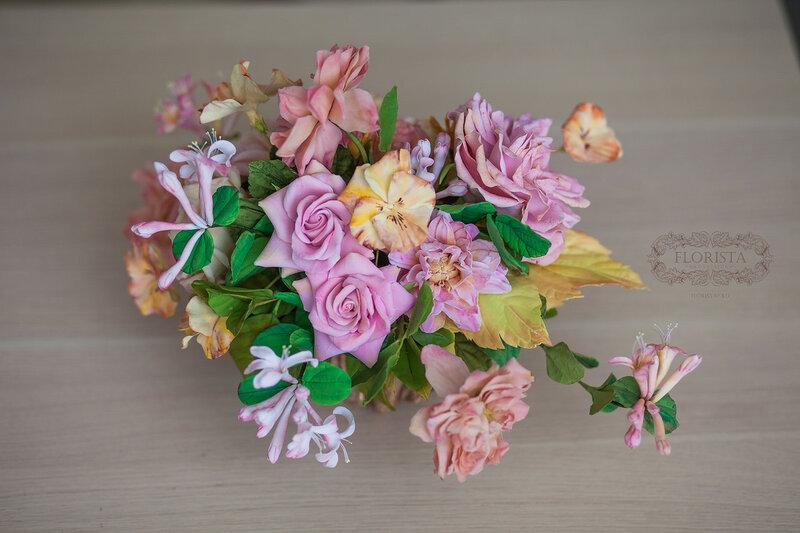 цветы и украшения ручной работы