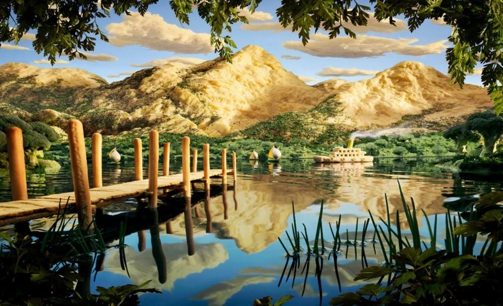 6. Сырные горы