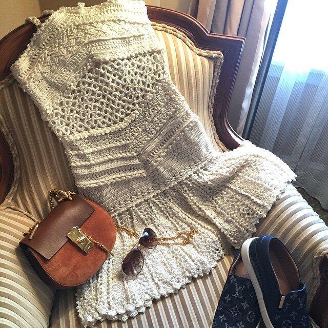 Вязанные изделия от Ванессы Монторо