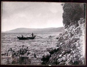 Рыбаки на Волге вблизи Молодецкого кургана.