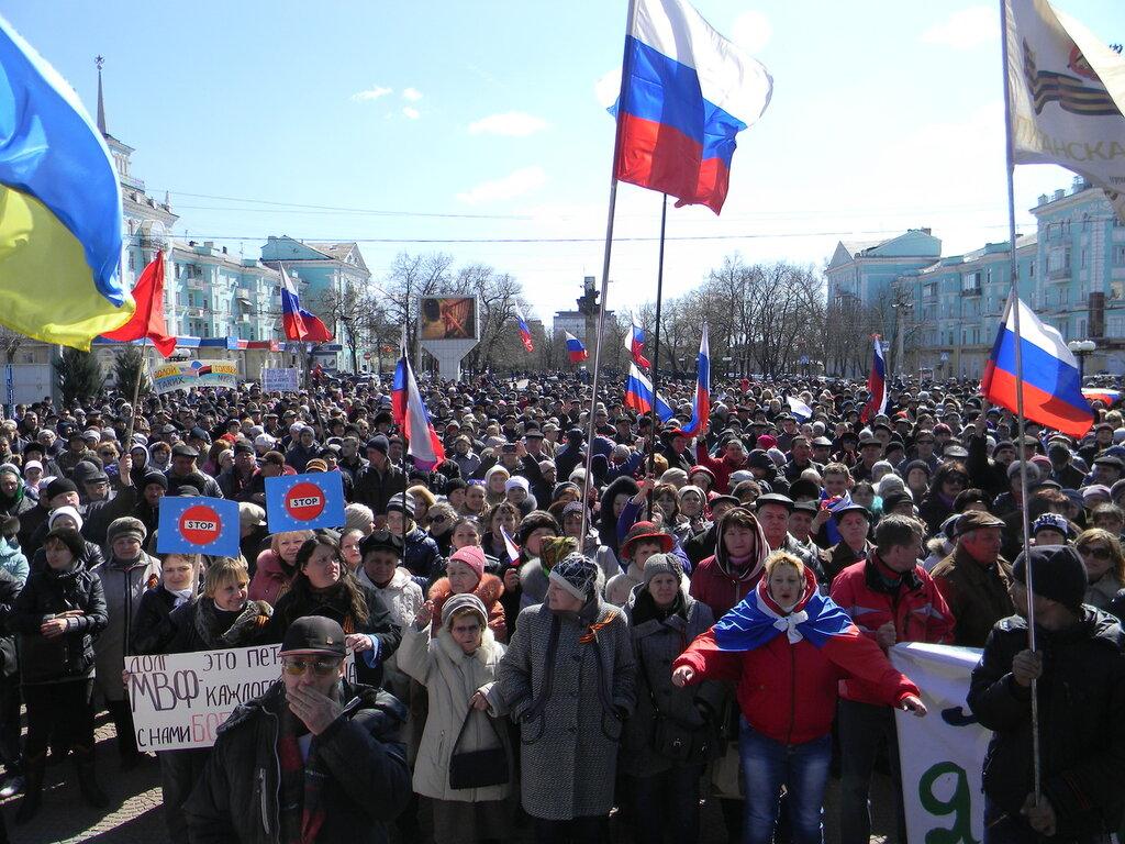 фото митингов в луганске образом, поклонники