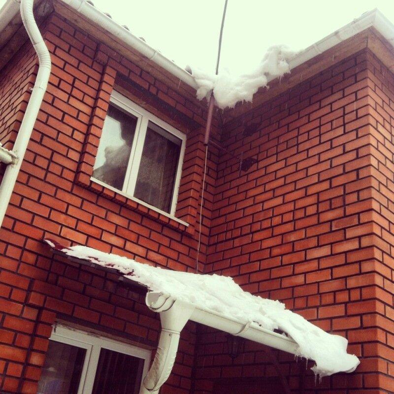 Последний мартовский снегопад