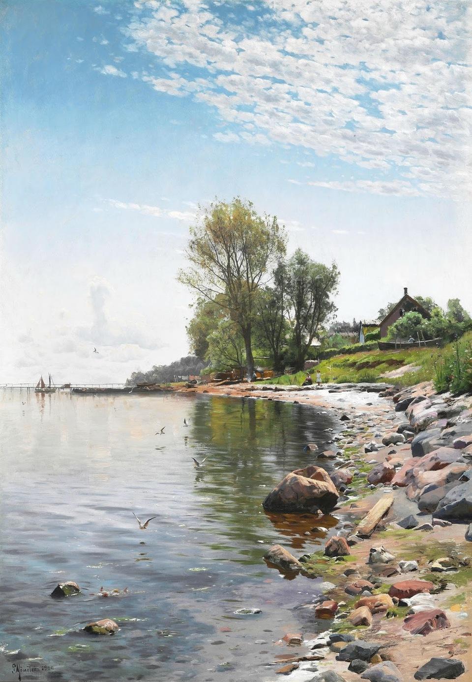 Художник Петер Мёрк Мёнстед (Peder Mørk Mønsted), 1859 -1941. Дания.Часть 3