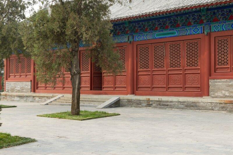 Павильон Цзинъитин, Императорская Академия, Пекин