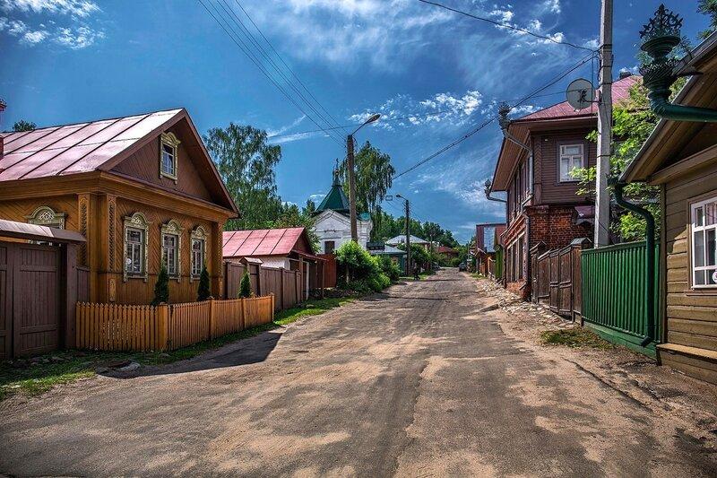 Улицы Плёса