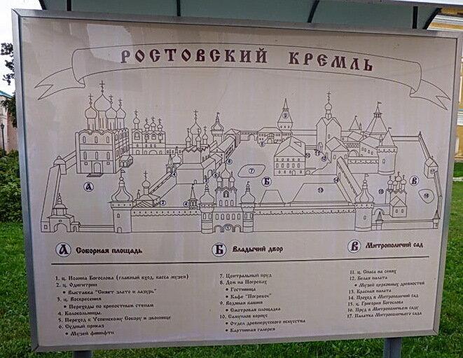 Монастыри Золотого Кольца - Ростовский Кремль (Ростов Великий)