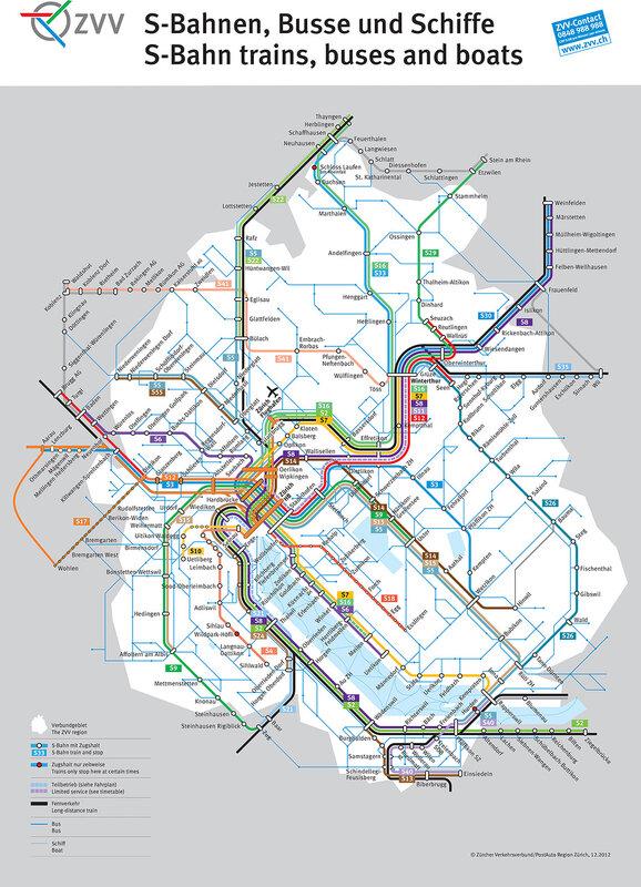Схема региональных перевозок