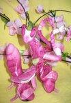 Орхидейный богомол. Текстиль.