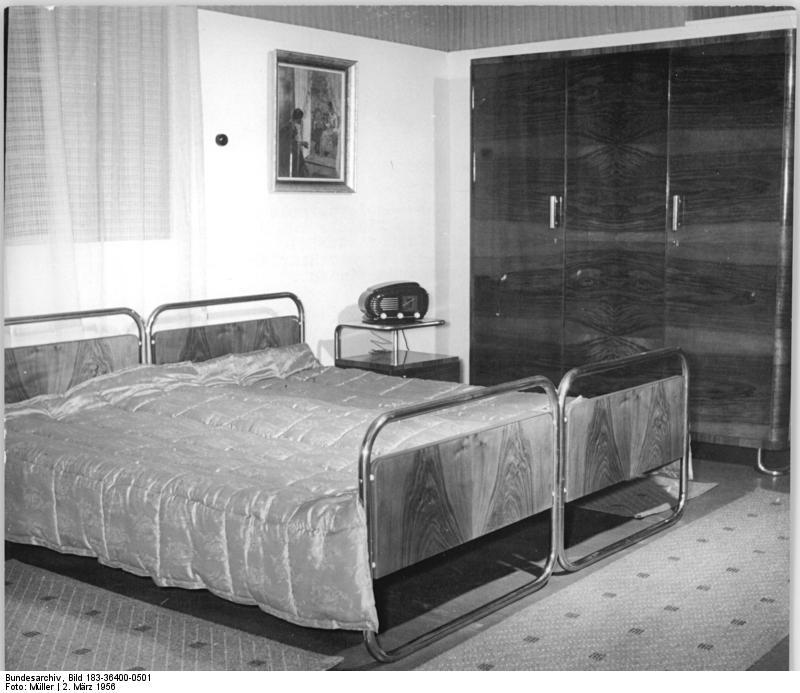 Leipzig, Messe, Schlafzimmer