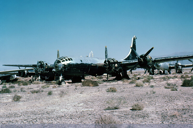 44-62222 - B-29A Superfortress - ex-US Air Force - China Lake / Naval Weapons Center - 03-Oct-78