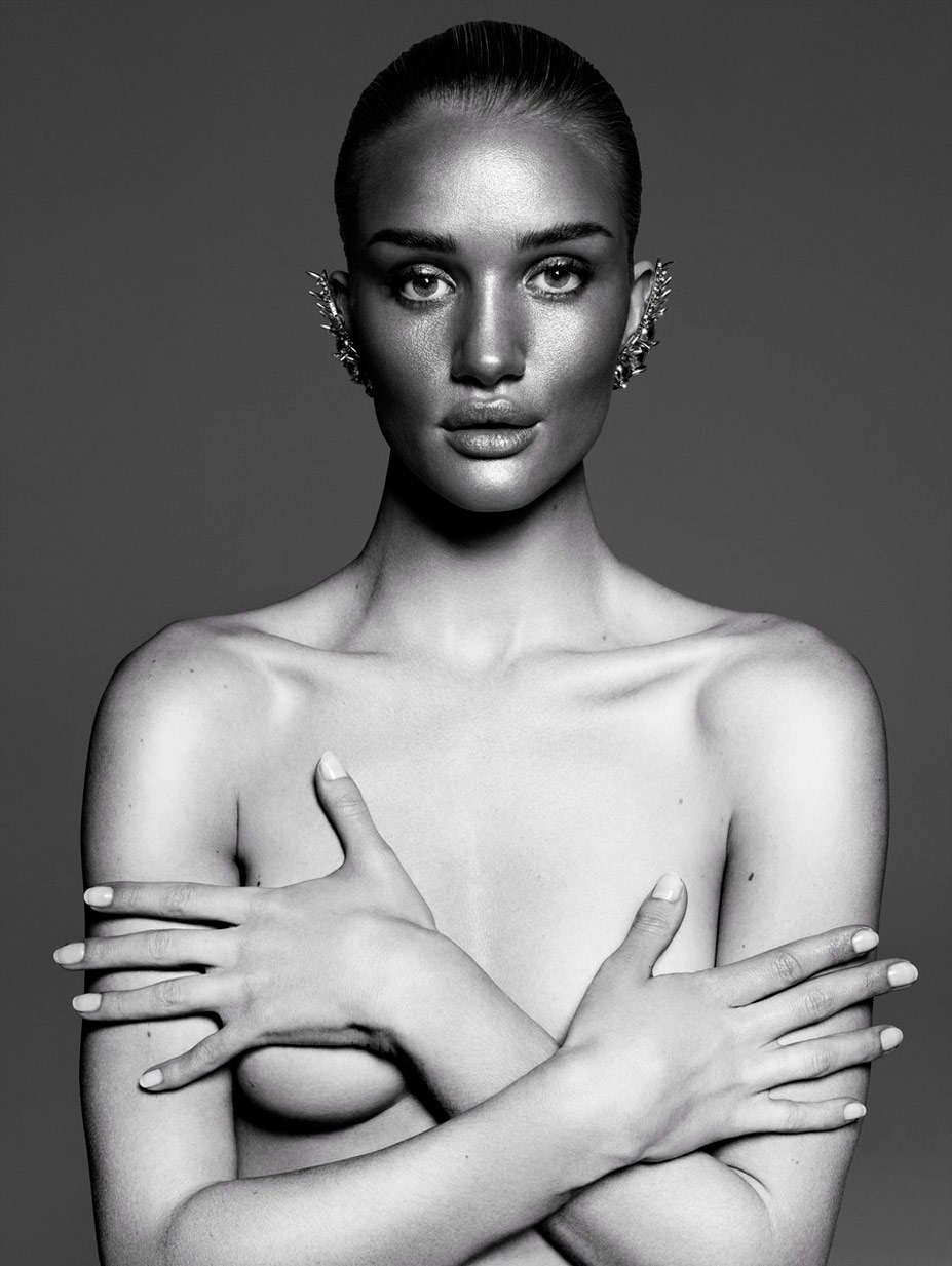 Роузи Хантингтон-Уайтли / Rosie Huntington-Whiteley by Paola Kudacki in Vamp Magazine #1