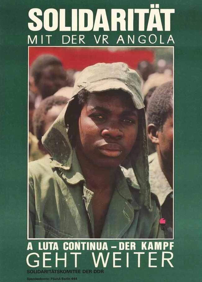 Солидарность с Анголой. Борьба будет продолжаться