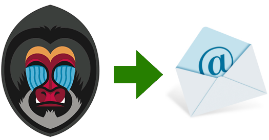 Send email in django project with mandrill service
