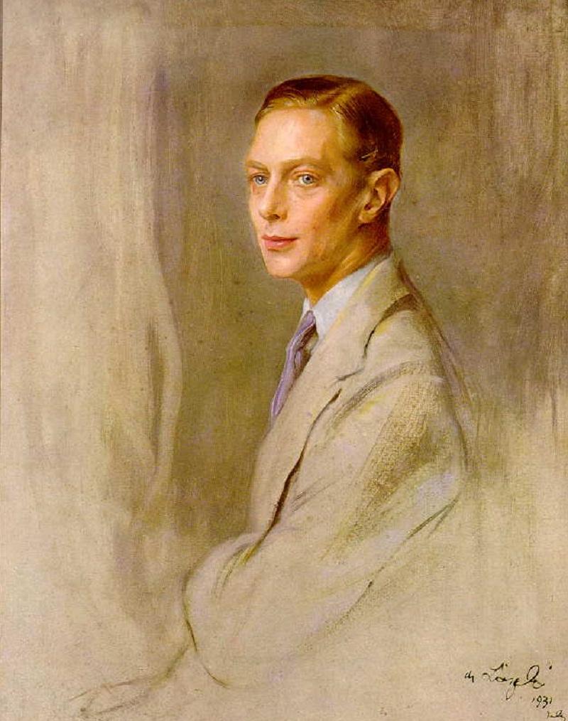 Philip Alexius de László King George VI (1895–1952) 1931