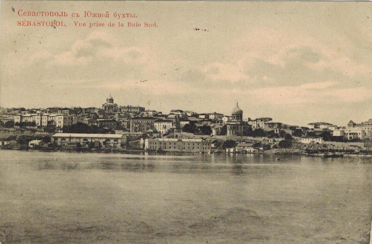 Вид города с Южной бухты
